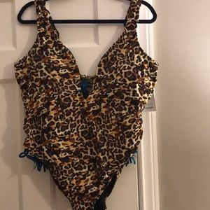 Swimsuit for All x Ashley Graham Size 18 NWT